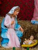 圣诞节小儿床形象 库存照片
