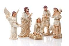 圣诞节小儿床 库存图片