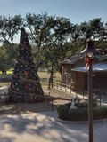 圣诞节小屋 库存图片