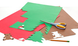 圣诞节工艺 免版税库存照片