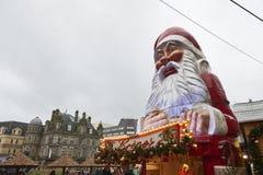 圣诞节市场在伯明翰 库存图片