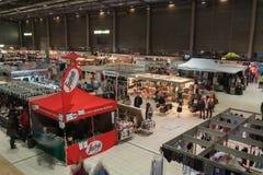 圣诞节市场在布尔诺展览会 库存图片