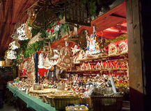 圣诞节市场在德累斯顿 免版税库存照片