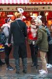 圣诞节市场在纽伦堡,巴伐利亚 免版税库存图片
