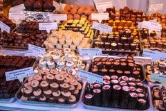 圣诞节市场在维也纳奥地利 免版税库存照片