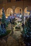 圣诞节市场在维罗纳2015年 库存图片