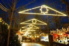 圣诞节市场德国2016年 库存图片