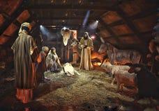 圣诞节市场,布加勒斯特 免版税库存图片