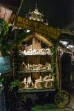 圣诞节市场, 2016年11月 免版税库存图片