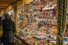 圣诞节市场, 2016年11月 库存图片
