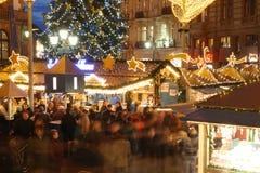 圣诞节市场 免版税库存照片