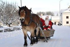 圣诞节市场 免版税库存图片