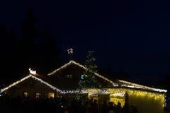 圣诞节市场 图库摄影