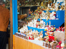 圣诞节市场 库存照片