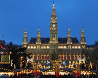 圣诞节市场viennas 库存图片