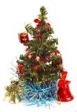 圣诞节常青树结构树 免版税库存图片