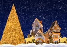 圣诞节幻想 免版税库存照片