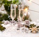 圣诞节庆祝 免版税库存照片