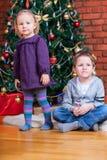 圣诞节开玩笑二 免版税库存图片