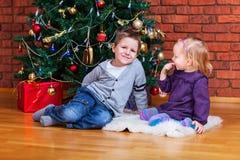 圣诞节开玩笑二 库存图片