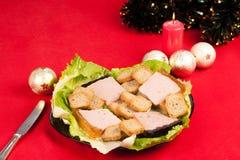 圣诞节开胃菜 库存照片