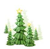 圣诞节异想天开雪的结构树 免版税库存图片