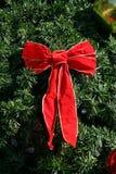 圣诞节弓 免版税库存图片
