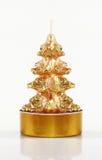 圣诞节微型结构树 免版税库存照片