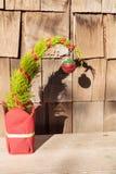 圣诞节微小的结构树 库存图片