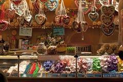 圣诞节德国市场停转 免版税库存照片