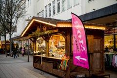 圣诞节德国市场 库存照片