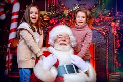 圣诞节快活的时间 库存图片