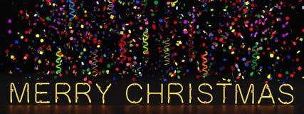 圣诞节快活的场面 库存照片