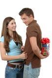 圣诞节惊奇 免版税库存图片