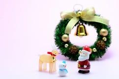圣诞节想象的租赁资产 免版税库存照片