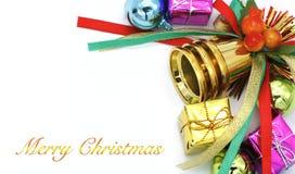 圣诞节愉快的快活的新年度 图库摄影
