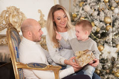 圣诞节愉快系列的礼品 库存图片