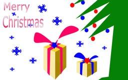 圣诞节愿望的例证 免版税库存图片