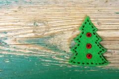 圣诞节我的投资组合结构树向量版本 库存图片