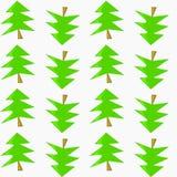 圣诞节我的投资组合结构树向量版本 向量例证