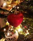 圣诞节我的结构树 免版税库存照片