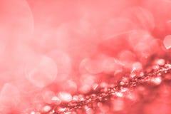 圣诞节或假日backgro的抽象典雅的bokeh照明设备 图库摄影