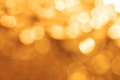 圣诞节或假日backgro的抽象典雅的bokeh照明设备 免版税图库摄影