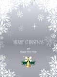 圣诞节或新年度背景 免版税库存照片