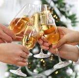 圣诞节或新年庆祝 免版税库存照片