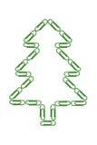 圣诞节截去纸结构树 免版税库存照片