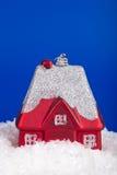 圣诞节房子玩具 免版税库存图片