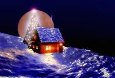 圣诞节房子 免版税图库摄影