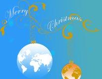 圣诞节抽象背景 库存图片