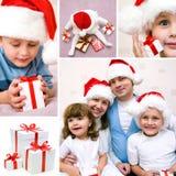 圣诞节拼贴画系列 免版税图库摄影